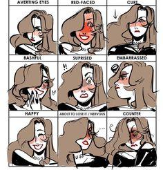 I love these memes #lizocs #blushingmeme by liizoni