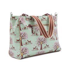 Bramley Tote Changing Bag   Diaper Bag   Pink Lining