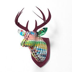 Fabulous Faux Deer Mounts - match my decor SO much better than the real thing would (more humane, too)