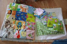 I-Spy Quilt/Matching page