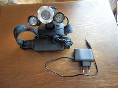 In the package there is the LED headlamp and the power adapter (EU)