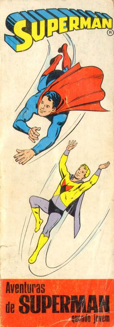 Cover for Heróis Juvenis - Série Superman (Editorial Bruguera, 1968 series) #4