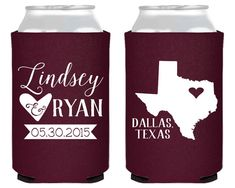 Texas Anniversary Texas Party Gifts State Wedding Favors Texas Wedding Texas Gifts Texas Wedding Texas Party Favors Any State 1595 by SipHipHooray