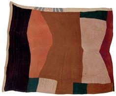 Scrap crazy quilt (mid 19th century)