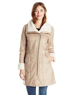 """Faux shearling walker coat       Famous Words of Inspiration...""""All lasting business is built on friendship.""""   Alfred A. Montapert — Click here for more from Alfred A....  More details at https://jackets-lovers.bestselleroutlets.com/ladies-coats-jackets-vests/leather-faux-leather-ladies-coats-jackets-vests/product-review-for-7-for-all-mankind-womens-faux-shearling-coat/"""