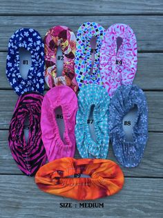Bowling Shoe Covers Size Medium many by SewManyStitchesVT on Etsy