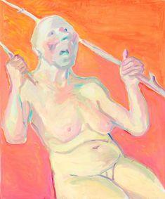 """Body Check"" at Lenbachhaus (Contemporary Art Daily) Contemporary Art Daily, Modern Art, Martin Kippenberger, Female Painters, Self Exploration, Body Check, Public Display, In The Flesh, Art Inspo"