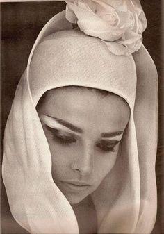 Iris Bianchi, photo by Saul Leiter for Harper's Bazaar 1962