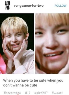 |He looks like he's about to murder your entire family.| Woozi - Seventeen