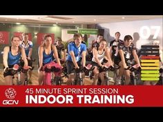 45 Minute Cycle Training Workout - Sprint Training Video Description Get fit with GCN! This indoor cycle training video is a 45 minute sprint training Sprint Workout, Cycling Workout, Cycling Tips, 20 Minute Hiit Workout, Road Cycling, Spin Bike Workouts, Fun Workouts, Cycling For Beginners, Bike Trainer