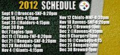Pittsburgh Steelers 2012