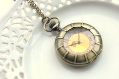 Steampunk Antique Brass Pocket Watch Vintage Style by Wrhs11, €17.50