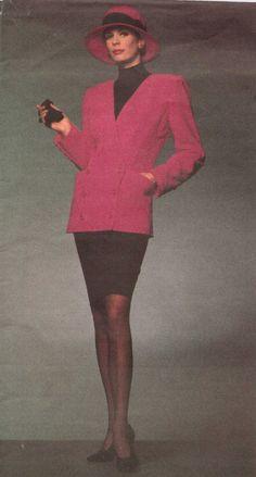90s Emanuel Ungaro Vogue Paris Original Sewing by CloesCloset