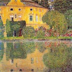 Gustav Klimt - Schlosskammer am Attersee