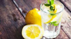 Причины пить воду с лимоном по утрам: