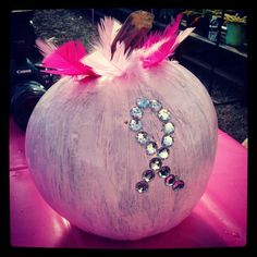 "GreenScapes Garden Center in Mohawk, New York hosted a second Pink Day in October with a ""Pink Pumpkin Patch."" What a fun idea!"