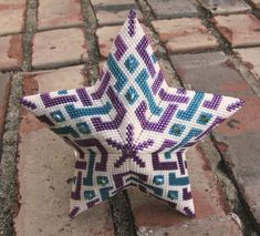 From a triangle pattern by Pamela Welborn aka Violet Bead