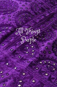 spiritual awareness, physical and mental healing, hence strength, abundance, red purple brings luck and fame. Purple (紫; zǐ) refers to the North Star (Polaris), which in ancient China was called the Ziwei Star, the North Star was in traditional Chinese astrology the abode of the Celestial Emperor. http://www.nationsonline.org/oneworld/Chinese_Customs/colours.htm ☛All Things Purple☚  denim-and-chocolate.tumblr.com