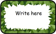 Editable Leaf Template Plants And Nature Themed Editable Classroom Display Resources, Leaves Editable Text Free Early Years Primary Teaching, Plants And Nature Themed Editable Classroom Display Resources, Jungle Theme Classroom, Jungle Theme Birthday, Jungle Theme Parties, Safari Birthday Party, Birthday Ideas, 12th Birthday, Safari Party, Zoo Party, Jungle Party