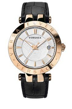Cómo se chapan los relojes dorados en oro: Reloj Versace dorado en I.P. de oro rosa, para hombre ref.23Q80D002-S009
