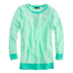cashmere waffle sweater / j.crew... what a gorgeous color