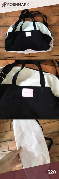 Victoria's Secret gym bag Needs to be cleaned up Victoria's Secret Bags Travel Bags