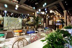 Casinha colorida: Viagem e design: Tickets Tapas Bar