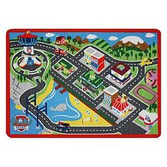 Nickelodeon Paw Patrol Play Mat with 1 Mega Car TCG http://www.amazon.com/dp/B0147YPI4M/ref=cm_sw_r_pi_dp_bHExwb00E17DQ