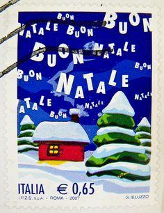 Italian Christmas stamp