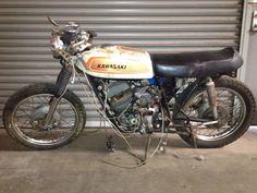 1970 Kawasaki a7 cafe