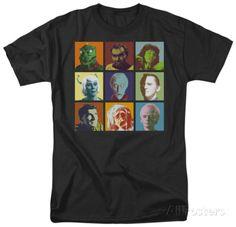 Star Trek-Alien Squares T-Shirt