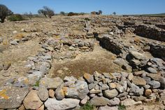 prehistorical Poliochni town, Limnos Island, near Kaminia village, GREECE Ancient Beauty, Ancient Civilizations, Greek Islands, Planet Earth, Greece, World, Places, Pictures, The World