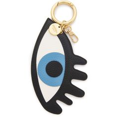 Iphoria Eye See You Bag Charm (3,880 DOP) ❤ liked on Polyvore featuring jewelry, pendants, bags, lobster clasp charms, lobster claw charms, lobster claw clasp charms, vegan jewelry and charm pendant