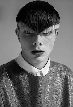 Vanguard Haircut Editoriaux: coupe de cheveux éditoriale