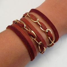 Another leather bracelet!