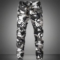 Camouflage Casual Men Jogger Pants