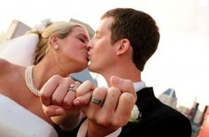 Pinky Promise wedding picture