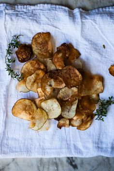 Homemade Potato Chips | for the love of the south