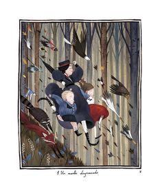 Júlia Sardà, illustration for Mary Poppins