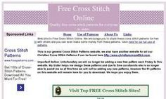 Top 10 sites for free cross stitch patterns