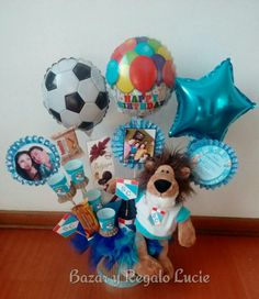 Animal Party, Bouquet, Chocolate, How To Plan, Gifts, Ideas, Gift Shop Decor, Baby Gift Baskets, Candy Arrangements