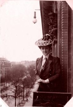 Agatha Christie , Paris 1906