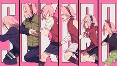 Sakura Haruno, Sakura And Sasuke, Naruto Girls, Naruto Art, Anime Naruto, Boruto, Narusaku, Kakashi, Naruto Uzumaki