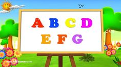 Alphabet Songs | ABC Songs for Children - 3D Animation Learning ABC Nurs...