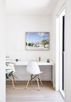 Eames, Office Desk, Study, Chair, Furniture, Home Decor, Desk Office, Studio, Decoration Home
