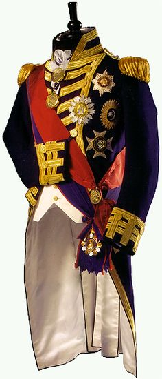 Henry Poole and Sons, Saville Row. Nelson's battle uniform