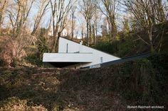 Casa triangular modernista en Seattle - Modernist house 1958