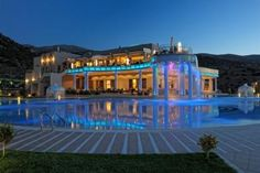 Royal Heights is situated within m² of land and features swimming pools and spa. Greece Hotels, Favorite Holiday, Swimming Pools, Spa, Mansions, House Styles, Home, Holidays, Houses