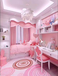 Small Room Design Bedroom, Modern Kids Bedroom, Study Room Design, Girl Bedroom Designs, Bedroom Decor, Small Bedroom Inspiration, Cute Bedroom Ideas, Cute Room Decor, Girls Princess Room