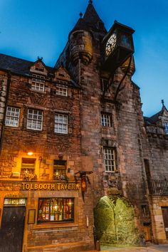 Edinburgh Canongate Tolbooth historical prison Edinburgh Scotland. Learn how to use DNA testing from home to plan your next trip based on your results!